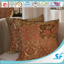 Funda de cojín de poliéster tejido tradicional Funda de cojín de silla de sofá