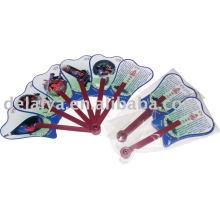 Promotional advertising PP plastic fan