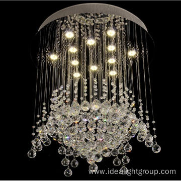 luxury crystal chandelier modern hanging lamp