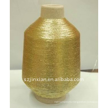 gold metallic yarn