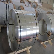 Bande d'aluminium pour écran de câble revêtu et blindé
