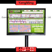 Baccarat Logo Result Display Casino Table (YM-EC04)
