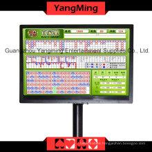 Baccarat Logo Reslut Display Casino Table (YM-EC04)