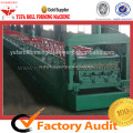 Baja Deck Forming Machine, Lantai Decking Forming Machine, Lantai Decking Roll Forming Machine