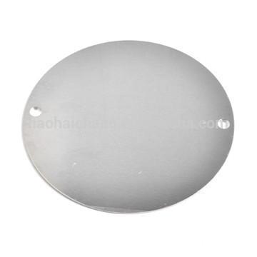 ShenZhen custom design high precision aluminum flange plate