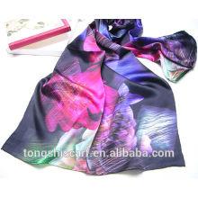 digitale Seide Schal Druck Tongshi Lieferant Alibaba China 2015 floral Schal Mode Kleider