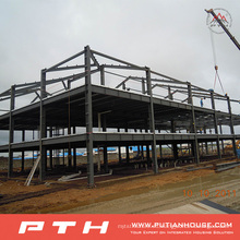 2015 Pth Design Steel Structure Warehouse con instalación fácil