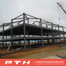 2015 Pth Design Steel Structure Warehouse avec une installation facile