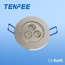 3W low decay led ceiling light flush mount