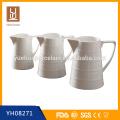 Кувшин фарфоровый фарфоровый различного размера горячий / керамический молочный кувшин