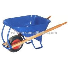 7 manija de madera resistente Carretilla de rueda WB8805