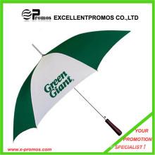 Werbe-Logo gedruckt Holz Griff Custom Umbrella (EP-U6232)