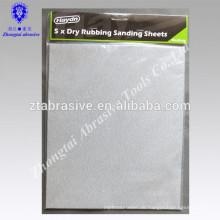 Trocken gestrichenes Sandpapier, Diamant-Sandpapier