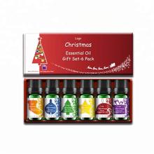Juego de aceites esenciales de aromaterapia Top 6 OEM