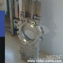 Ss304/Ss316 Through Going Knife Gate Valve