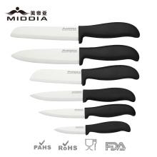 Couteaux en céramique de qualité d'usine de la Chine pour des couverts de cuisine