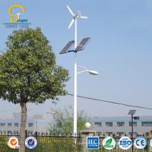 Éolienne menée 100w 200w 300w 400w 500w verticale verticale de rue hybride de vent