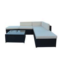 2016 nuevos sistemas blancos del sofá del Rattan del estilo