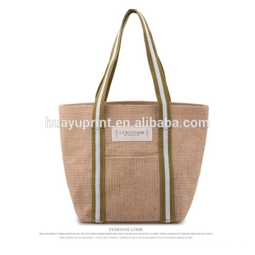 Custom size LOGO jute bag manufacturers