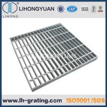 Plancher galvanisé acier caillebotis pour passerelle de tranchée