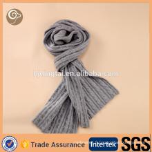 Écharpe faite sur commande à la mode écharpe d'écharpe d'hommes de cachemire