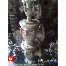 Three-Way Stainless Steel T/L Port Ball Valve
