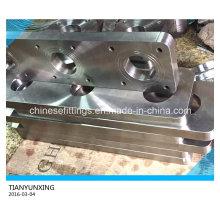 Brida rectangular de acero inoxidable especial