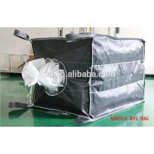 Embalaje jumbo tejido 1500kg pp para arena y mineral con alto tratamiento UV