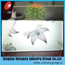 Acid Etched Glass/Frosted Glass/Decorative Glass