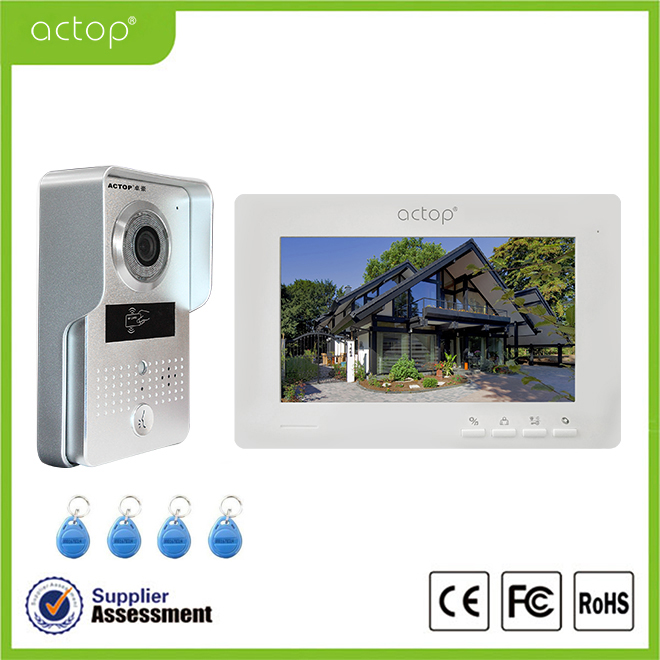 Video doorbell intercom