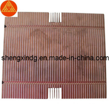 Stamping Brass Copper LED Radiator Heatsink Sx261