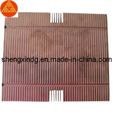 Stamping Brass Copper LED Radiator Heatsink Sx261