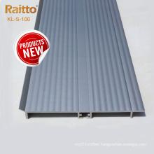 2021 Aluminum Alloy Kitchen Cabinet PVC Skirting Floor Kick Board