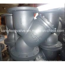 ANSI Flange End Y-Strainer com aço carbono