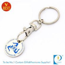 2015 Reliable Custom Metal Soft Enamel Trolley Coin Keychain Supplier