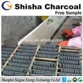 33mm Natual wood ground hookah shisha charcoal