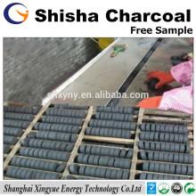 33mm Natual bois narguilé shisha charbon de bois
