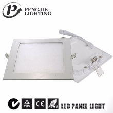 6W White Slim LED Panel Light (Square)