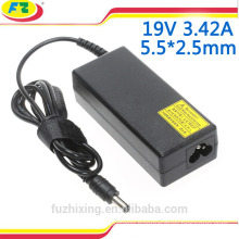 ac 100-240v laptop adapter for asus 19v 3.42a 65w 5.5*2.5mm notebook power charger