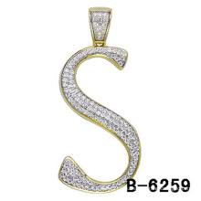 Стерлингового Серебра 925 Письмо Кулон Ювелирные Изделия