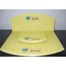 Colored Cosmetics Acrylic Display Case , Customized Acrylic