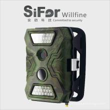 câmera de segurança infravermelha sem fio alimentado por bateria ao ar livre cartão SD trabalho de gravação com cartão SIM