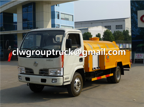 Cleaning Sewage Suction Truck 3