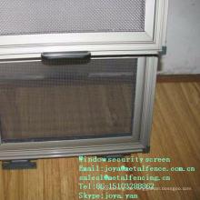 304/316 Draht gewebter Puder malte schwarzen / silbernen Türschutzschirm