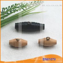 Moda de madera natural cuerno botón para las prendas de vestir BN8107