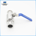 SS304/ 316L Sanitary 4 Inch Tri Clamp Ball Valve Manufacturer