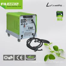Газ / без газа Преобразователь переменного тока MIG Welder (MAG-130/150/170/190)