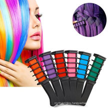 Temporary Bright Hair Chalk Set For Hair Dyeing