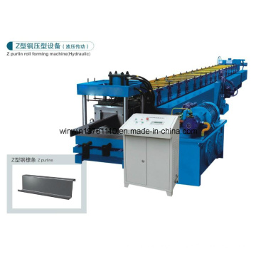 Hydraulic Style Z Purline Color Steel Tile Forming Machine