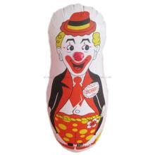 Hot Sale OEM Print PVC Promotional Inflatable Clown Tumbler Toy